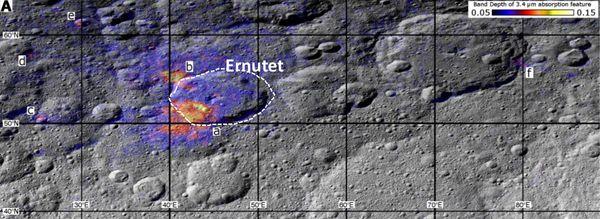 Зонд Dawn обнаруживает органику на Церере Церера, космос, вселенная, астрономия, исследование, зонд