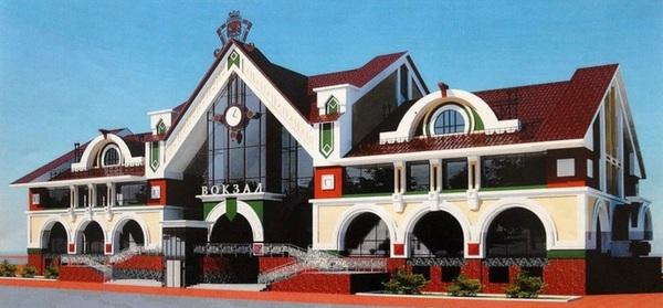 Новый вокзал Вокзал, Строительство, Преображение, Проект