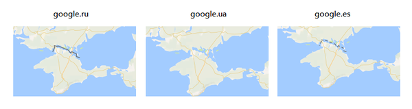Дипломатия Гугла. Google, Крым, Карты, Украина