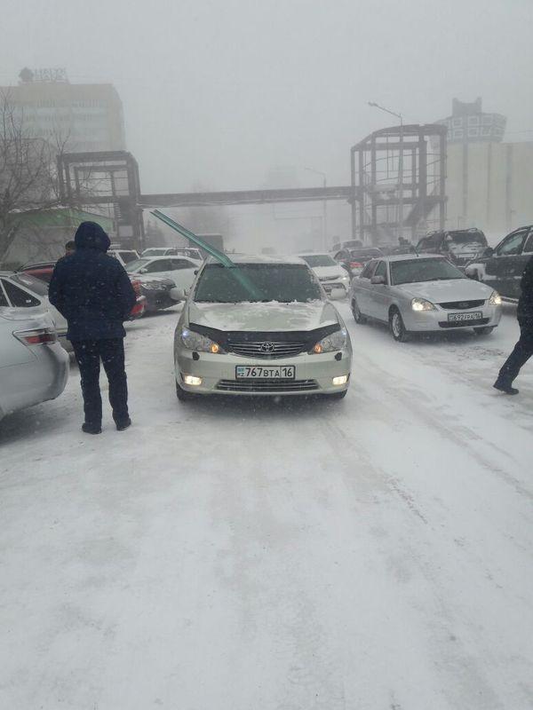 Вот такая погода сегодня в г.Семипалатинск метель, Семипалатиск, прилетело, когдамузыканеочень, длиннопост