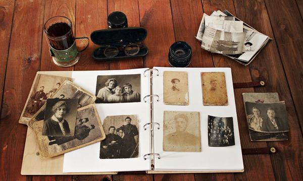 Вот такой фотоальбом в подарок одной знакомой) Альбом, фотография, ретро, моё, ручная работа, натуральная кожа