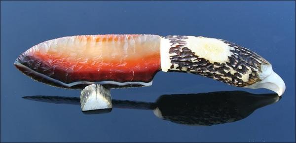 Ножи из бразильского агата нож, сувенир, камень, поделки, ремесло, длиннопост