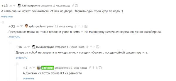 И снова комментарии... даже лучше, чем пост Комментарии, Воображение, Мыльная опера
