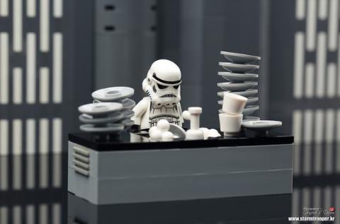 Один день из жизни штурмовика Lego, Лего звездные войны, Star wars, Самоделки, Длиннопост
