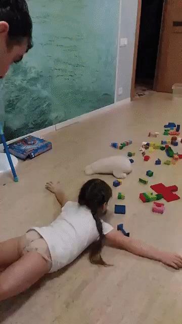 Сбор игрушек