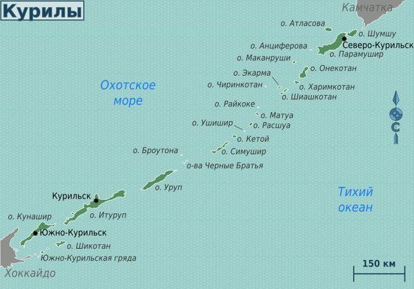 К истории Курильских островов Южные Курилы, История, Длиннопост