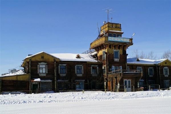 Жемчужина аэропортового деревянного зодчества России аэропорт, красота, Магаданская область, длиннопост