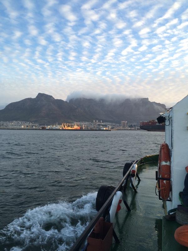 Дорога домой началась))) море, работа, домой!, Кейптаун, прохладненько