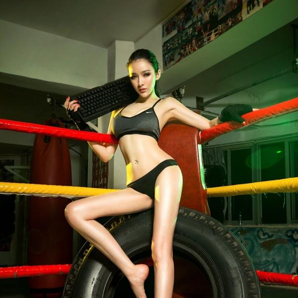 Боксер-игрок Фотография, Игры, Девайс, Ринг, Девушки, Длиннопост