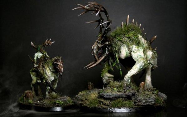 Aelves Of The Black Sloth Hell Warhammer, Warhammer: Age of Sigmar, Bruticus, Миниатюра, Фотография, Длиннопост