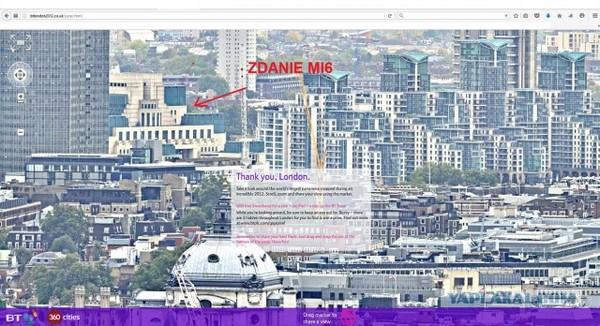 Если кому интересно ,панорамы Лондона Лондон, панорама, вид