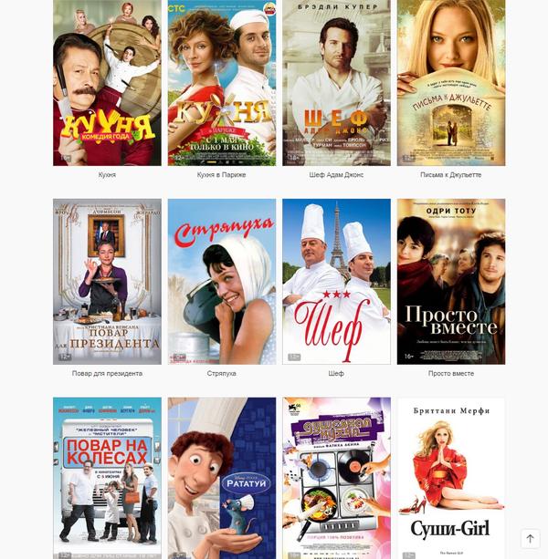 Фильмы про поваров или странное чувство юмора ivi, Фильмы, повар, ганнибал, длиннопост