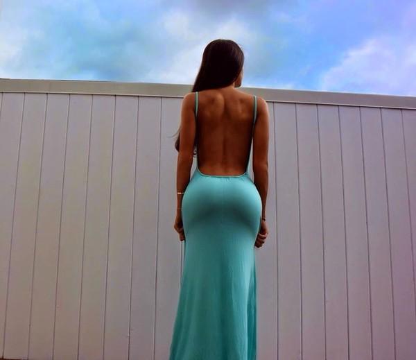 Обтягивающие попу платья