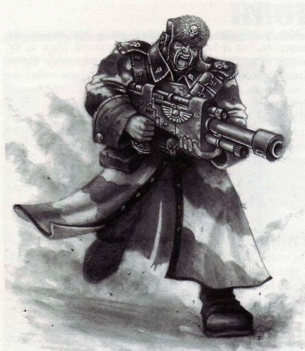 Valhallan Ice Warriors Valhallan Ice Warriors, Warhammer 40k, Wh art, Old Warhammer, длиннопост