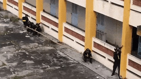 Вьетнамский спецназ на учениях