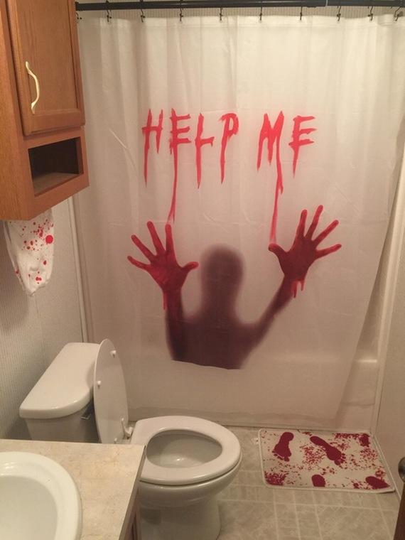 """""""Жена разрешила обставить ванную по своему вкусу"""" ванная, ремонт, ужасы, фотография"""