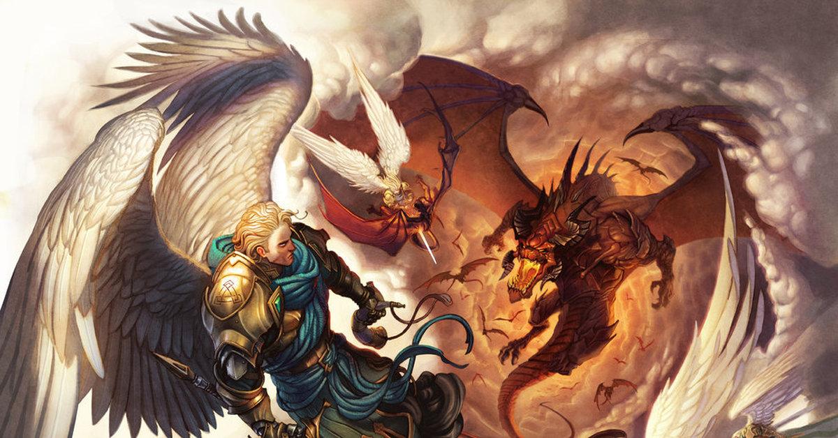 картинки битв ангелов
