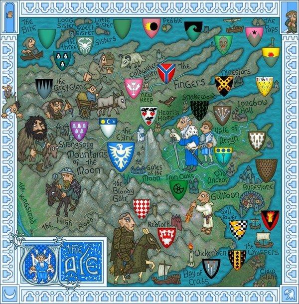 Карта Вестероса плио, Вестерос, мартин, карта, География, длиннопост, Игра престолов