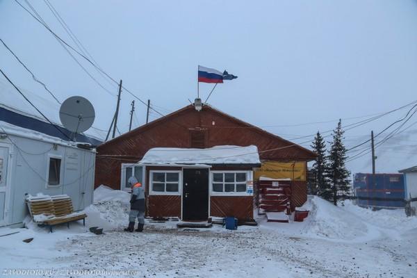 Как живут вахтовики в Якутии Якутия, Мир, газ, Алмаз, быт, длиннопост, собака