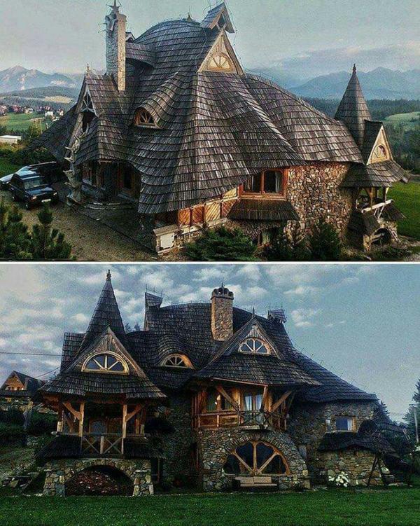 Домик в горах  .Польша