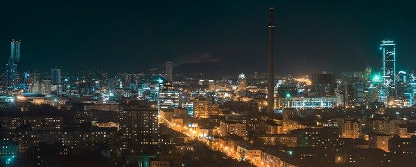 Екатеринбург с высоты Фотография, Екатеринбург, Крыша, Sony a7