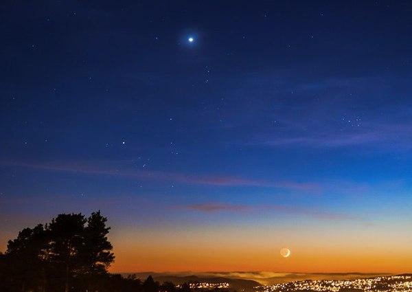 Можно увидеть фазы Венеры невооружённым глазом? венера, астрономия, космос, бинокль, телескоп, длиннопост