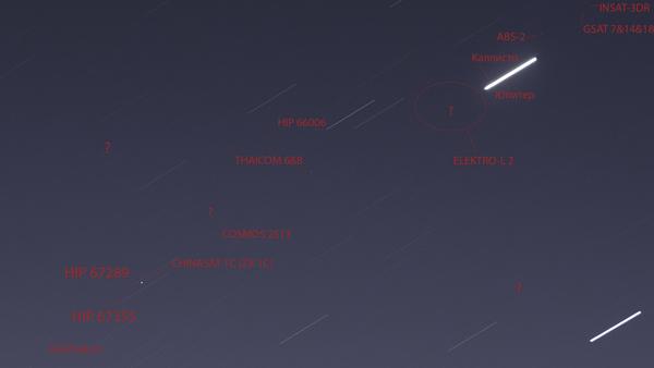 Балконный космос, доступный каждому. Продолжение. космос, спутник, орбита, фотография, астрофото, звездное небо, Юпитер, длиннопост
