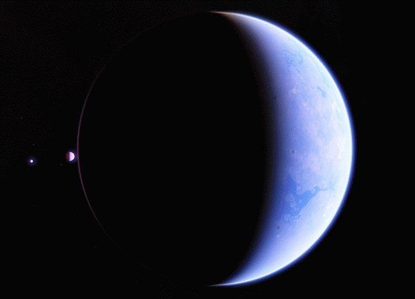 50 оттенков терры Космос, Планета, Звезда, Space Engine, Гифка, Длиннопост