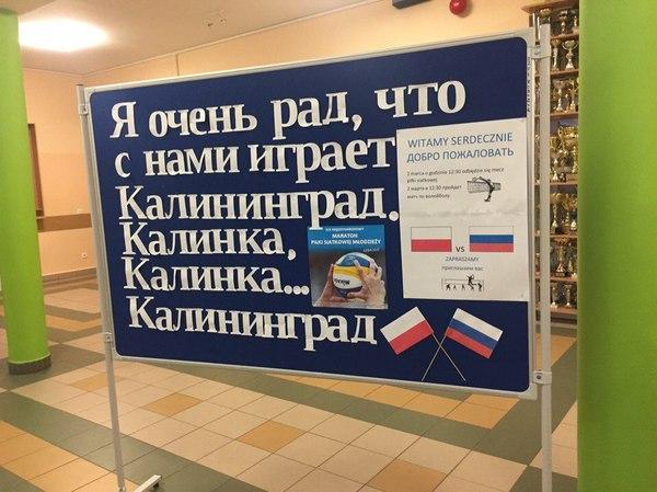 Не все поляки одинаково безнадёжны моё, волейбол, дружба, Калининград