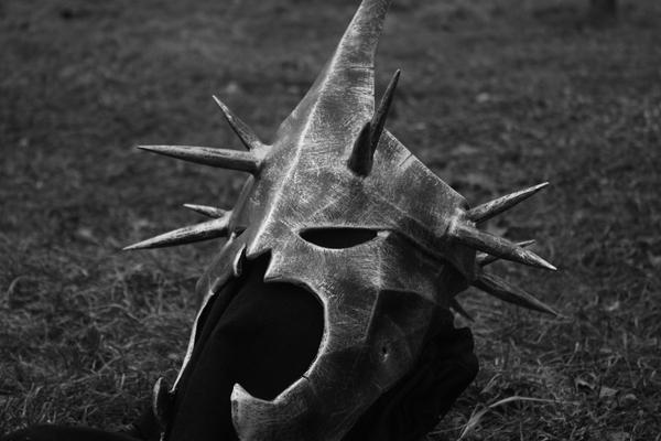 Шлем назгула Властелин колец, Pepakura, Papercraft, Шлем, Назгулы, Длиннопост