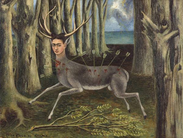 Раненый олень 1946, - Фрида Кало