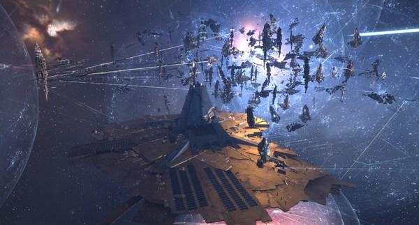 Catch: Крупное сражение в EVE Online Eve online, Длиннопост, Видео, Компьютерные игры, Космос ты просто детка