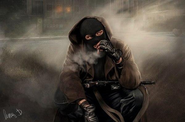 бандиты сталкер картинки