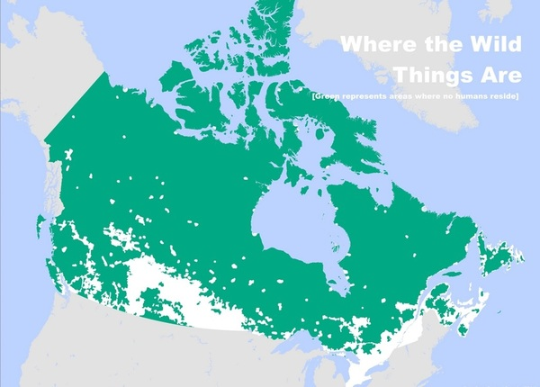 Необжитые районы Канады Канада, Карты, Территория, Картинки, Северная америка
