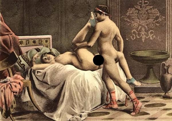 Порно в древние времена