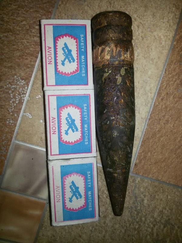 Колол дрова вчера! Находка) Пуля, Полено, Повезло