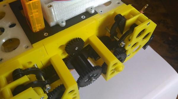 Снова платформа для робота на Ардуино. Теперь шагающая. arduino, 3d печать, 3D принтер, Робот, робототехника, сделай сам, Радиоуправление, видео, длиннопост