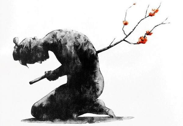 Что бы вы написали перед смертью? Хайку, Самурай, Камикадзе, Стихи, Текст, Картинки, Длиннопост