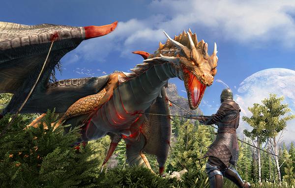 Интересные скриншоты из игры Dark and Light MMORPG, RPG, игры, песочница, sandbox, dragons, длиннопост