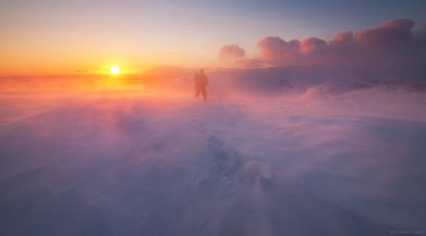 На вершину Фотография, Фотограф, Пейзаж, Россия, Весна, Закат, Март