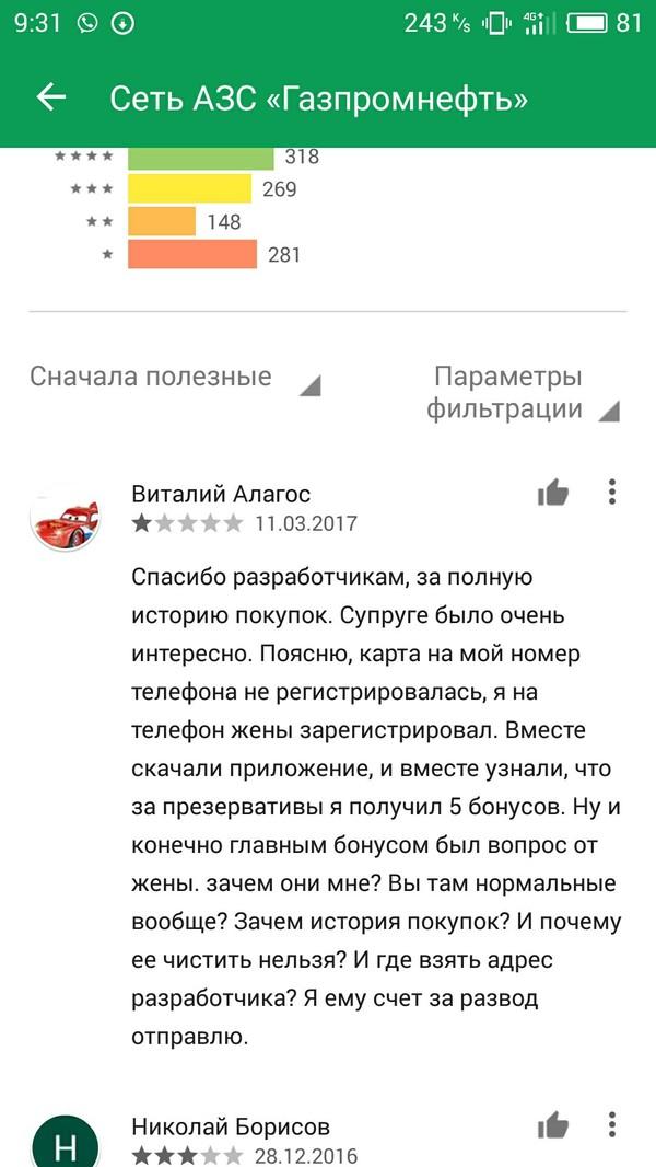 На просторах Плей Маркета Отзыв, Истории, Неудача, Google Play