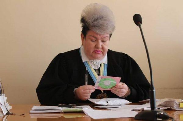 Судья Судного дня Макияж, Судья, Боевая раскраска, Украина, Не политика, Длиннопост