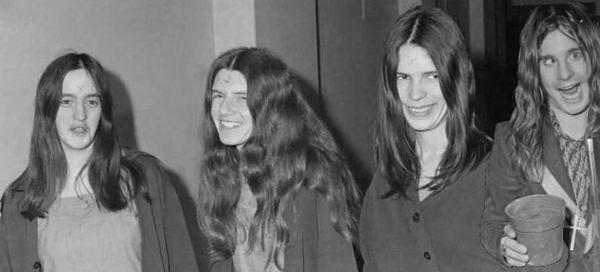 Старая группа Оззи Оззи Осборн, Black Sabbath, Metal, Металл, Рок, Музыка, Юмор, Коллаж