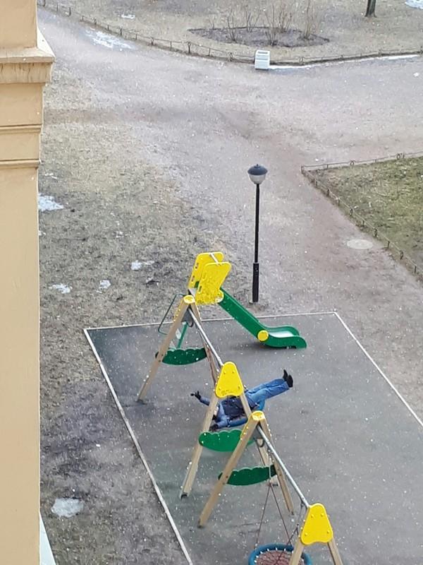 Когда ты молод в душе Санкт-Петербург, Качели, Юсуповский сад, Сделай паузу, Длиннопост