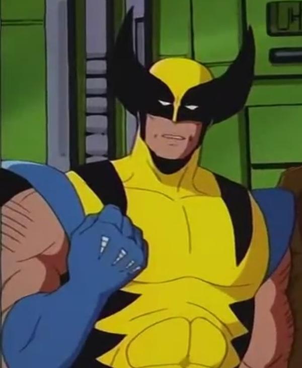 Косяк в мультсериале X-men Логан, Росомаха, Когти росомахи, Люди Икс