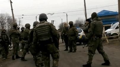 """Снятие блокады или """"ветераны"""" ато получают по щам Украина, Политика, усб, блокада, гифка, видео"""