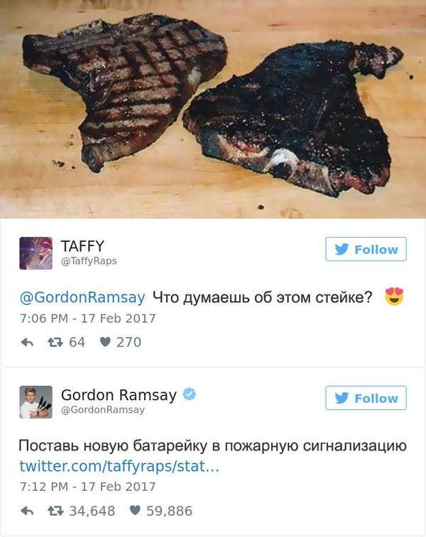 Эти люди пожалели, что решили показать свои блюда Гордону Рамзи. Гордон  Рамзи, Комментарии e67668d8a1a