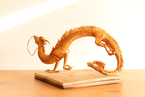 """Создание Хаку из """"Унесенные призраками"""" своими руками фигурка, дракон, Хаку, аниме, моё, длиннопост"""