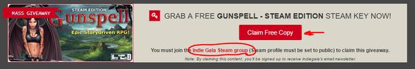 Раздача игры Gunspell для Steam Стимул, Gunspell, Steam халява, Бесплатные игры, Steam