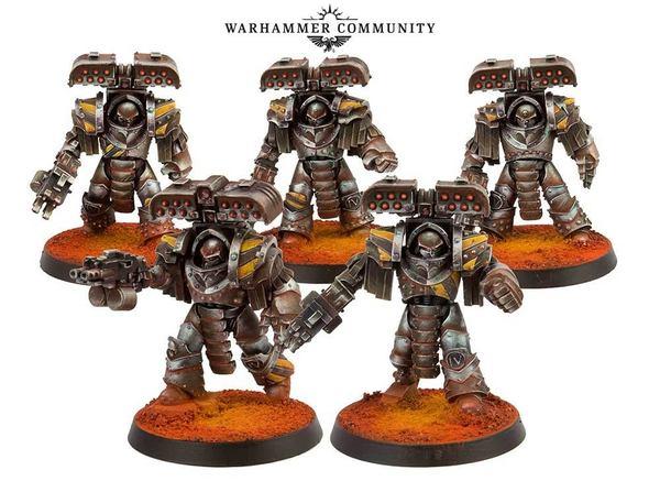 Forge World собирается выпустить 2 новых продукта для The Horus Heresy. Немного информации об этих новых боевых соединениях. Warhammer 30k, Warhammer, Horus Heresy, Информация, Wh miniatures, Длиннопост